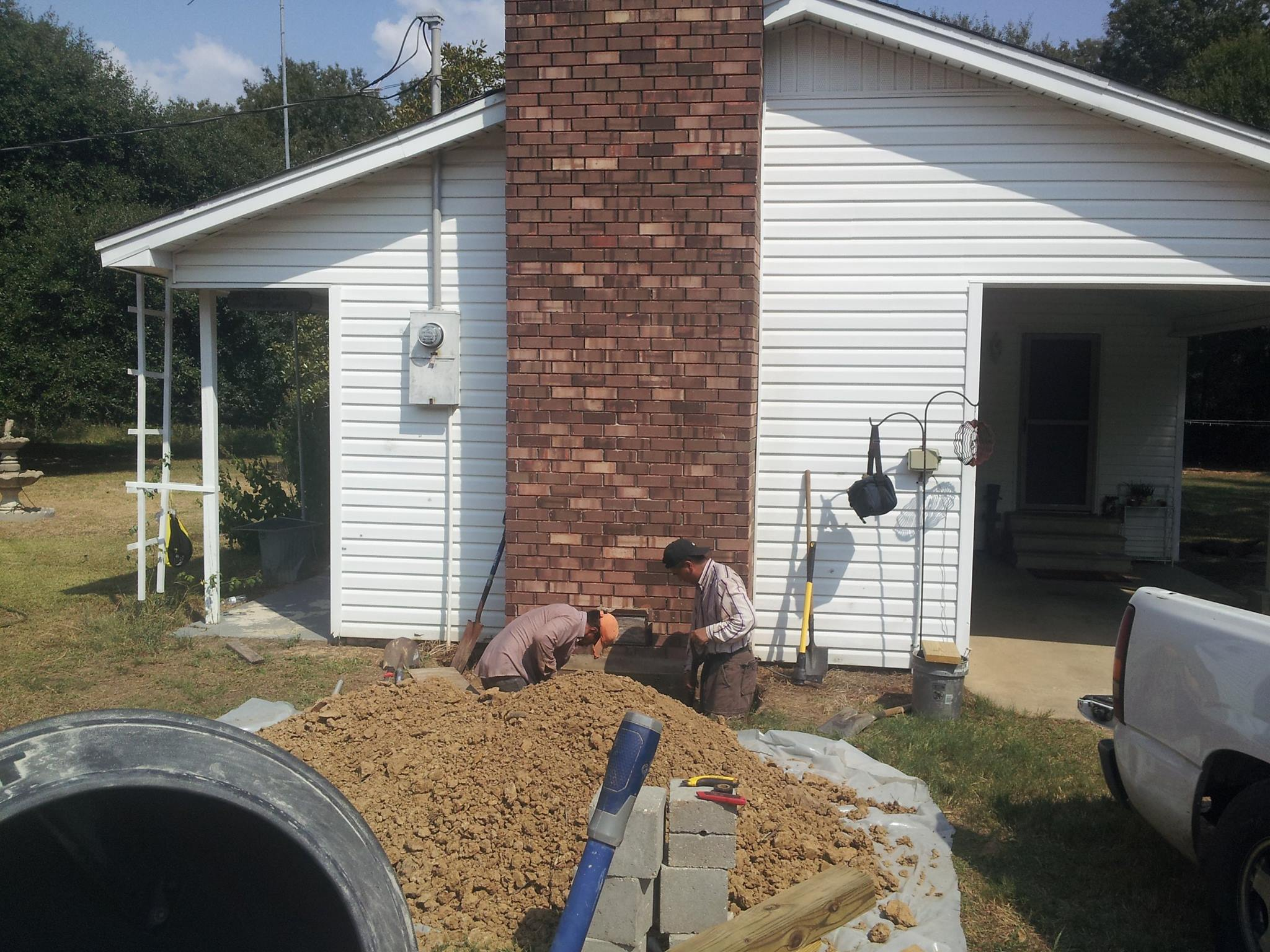 leaning chimney repair  u2013 house leveling and foundation repair