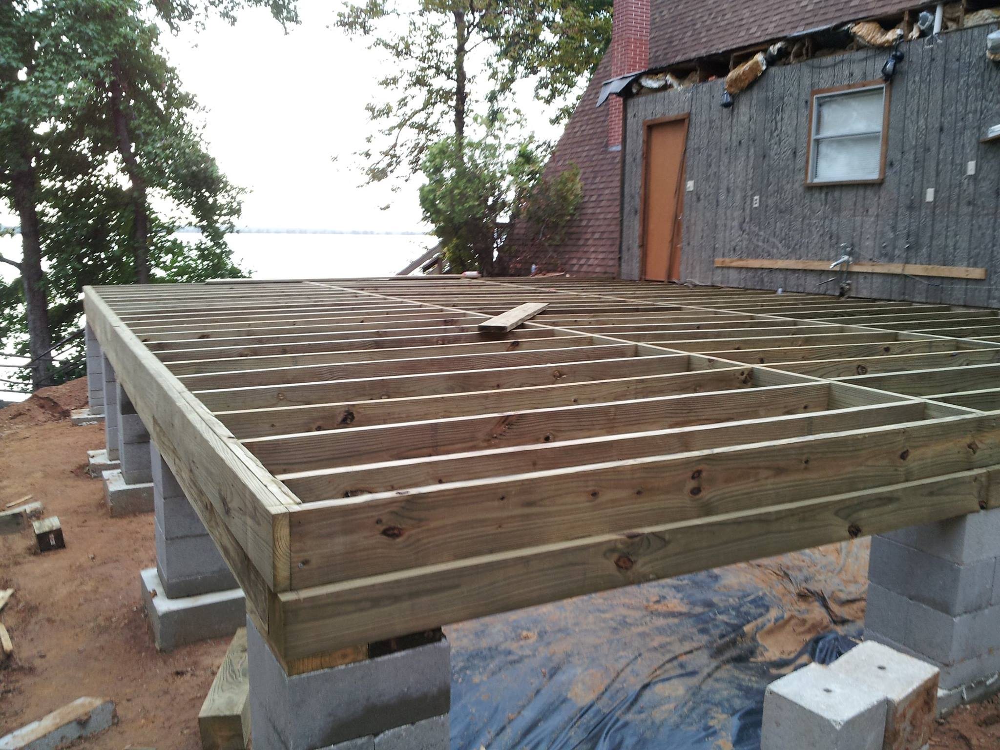 Crawlspace pier and beam foundation repair house for How to build a floor for a house