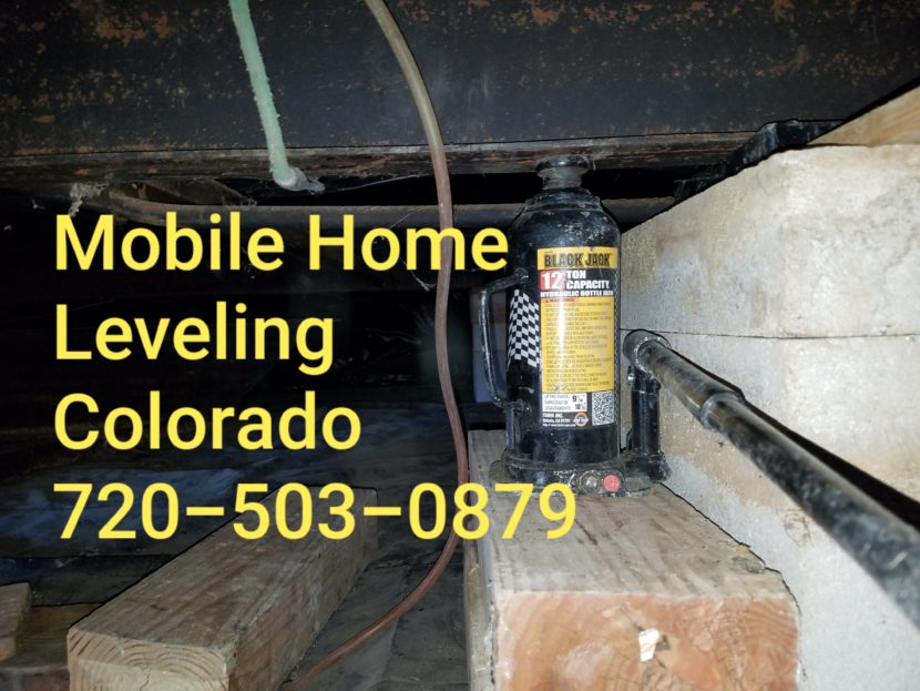 Mobile Home Leveling #MobileHomeLeveling